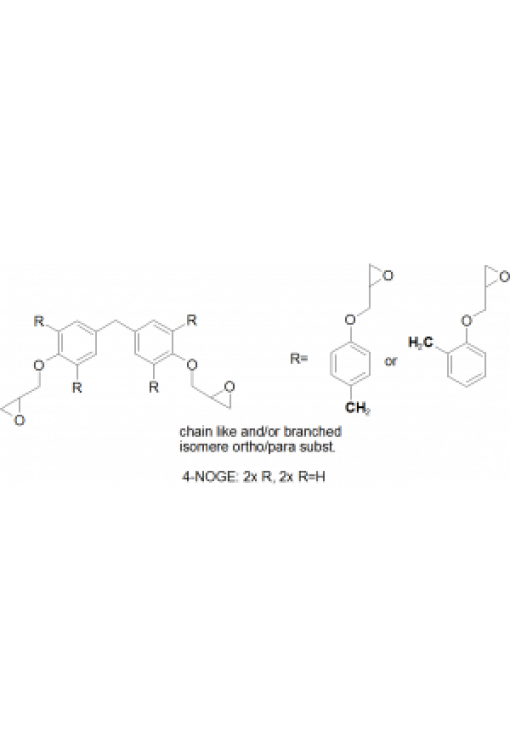 4-Ring NOGE (Novolac glycidyl ether) mixture of isomers, chain-like or branched