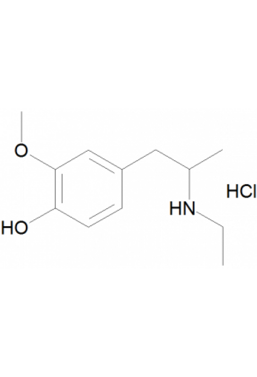 4-Hydroxy-3-methoxy-N-ethyl-amphetamine hydrochloride