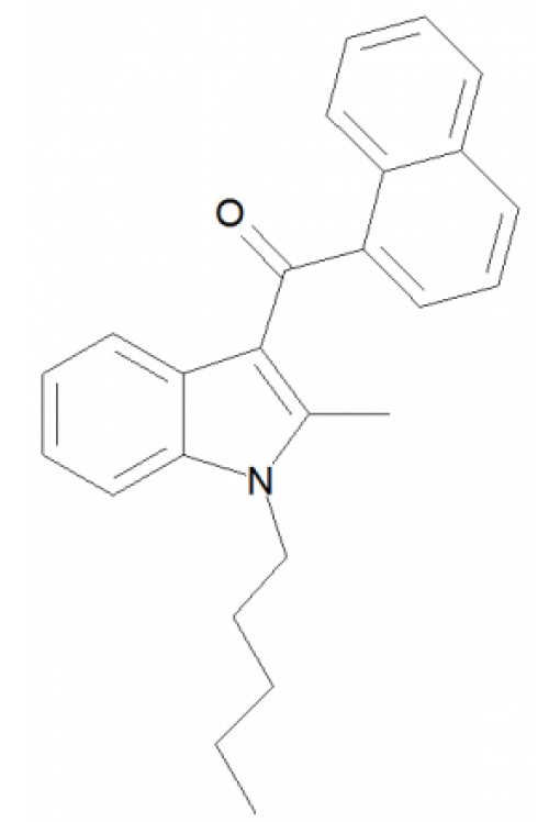 1-Pentyl-2-methyl-3-(1-naphthoyl)indole
