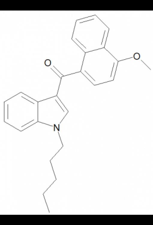 4-Methoxynaphthalen-1-yl-(1-pentylindol-3-yl)methanone
