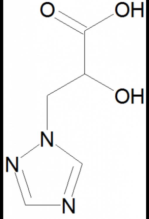 Triazole lactic acid