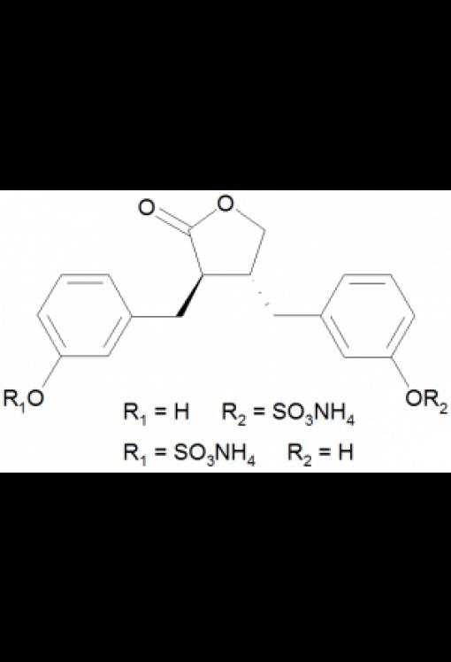 (+/-)-Enterolacton monosulfat ammonium salz