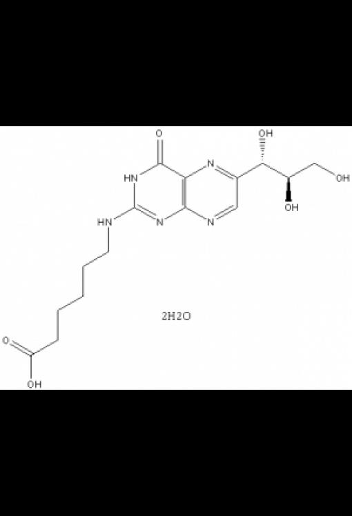 6-[[1,4-Dihydro-4-oxo-6-((1S,2R)-1,2,3-trihydroxypropyl)-2-pteridinyl]amino-hexanoic acid dihydrate